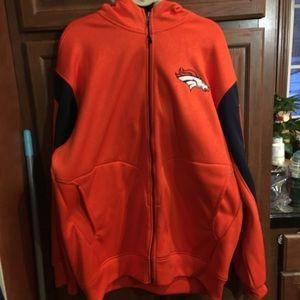 Men's Denver Broncos Reebok NFL Jacket 2XL